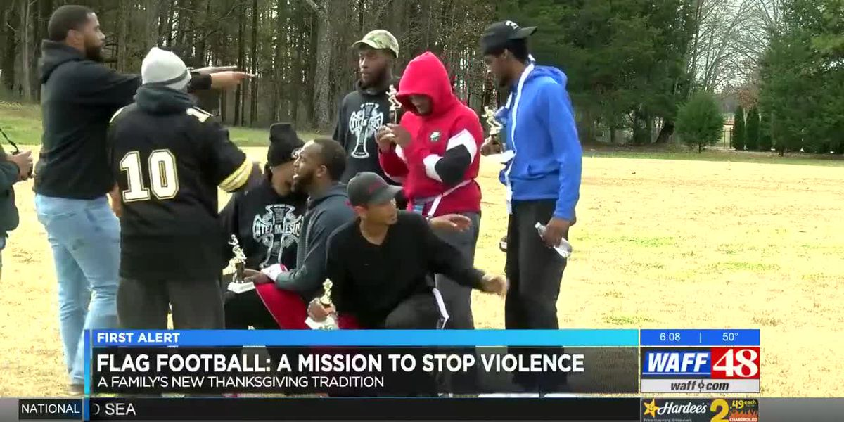 Flag football is how one family hopes to stop violence