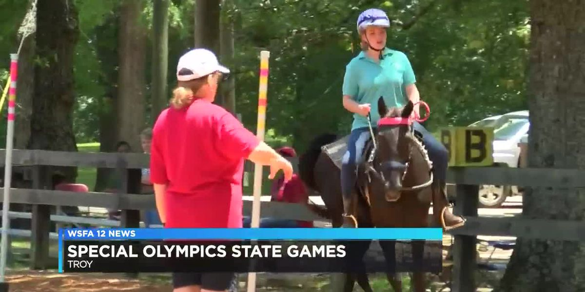 34 athletes compete in Special Olympics equestrian competition