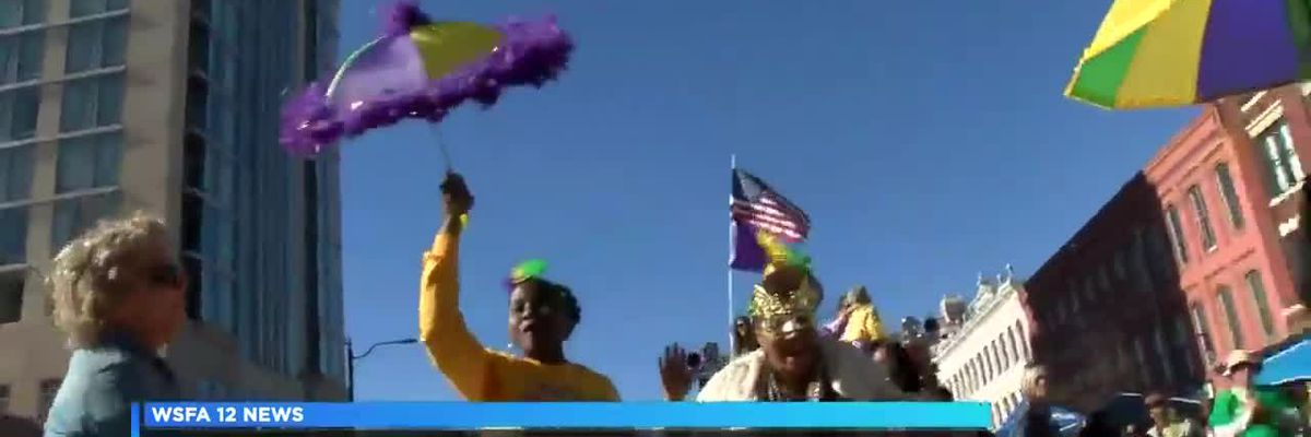 Annual Mardi Gras Block Party and Cajun Cookoff held downtown
