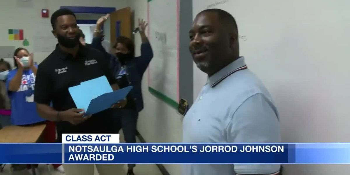 Class Act: Notasulga High School's Jorrod Johnson