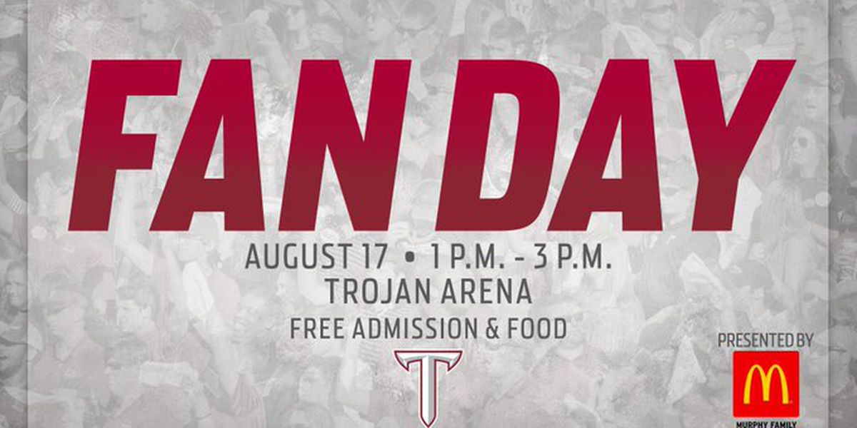 Troy University announces date for fan day