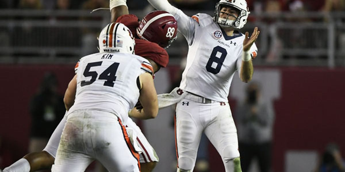 Auburn QB Jarrett Stidham declares for NFL Draft
