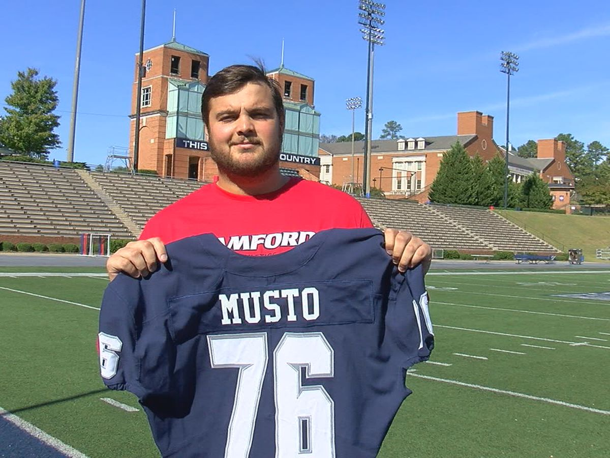 Samford football player changes his last name to honor stepfather