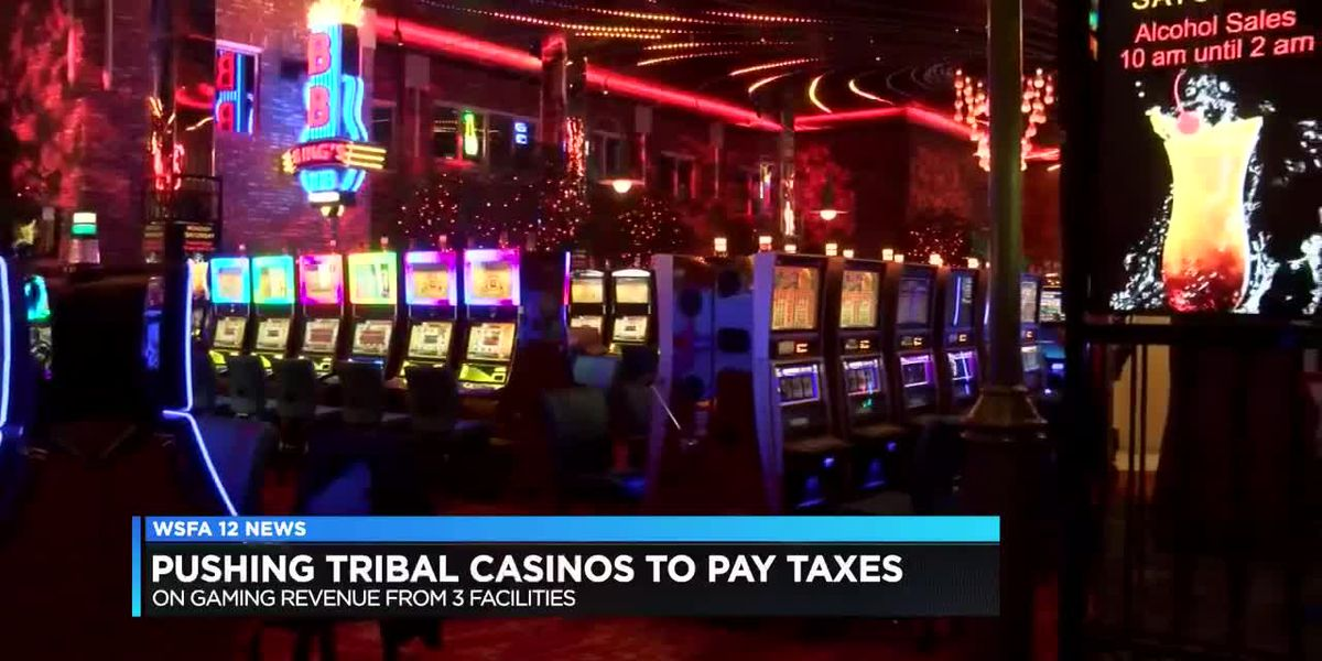 Organization aims to push tribal casinos to pay taxes