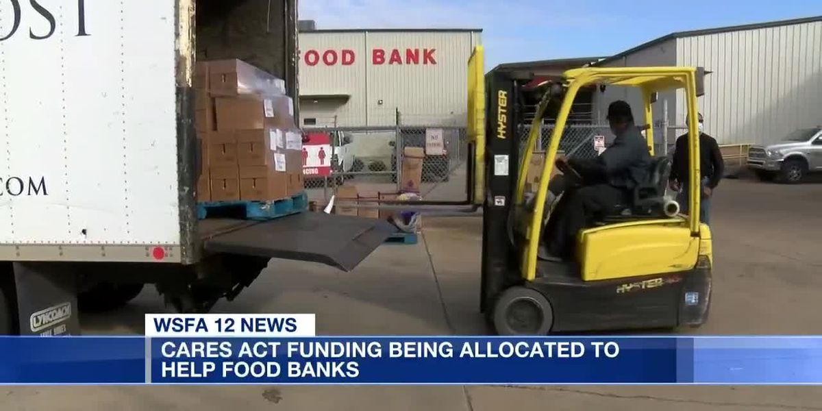 CARES Act funding being allocated to help food banks