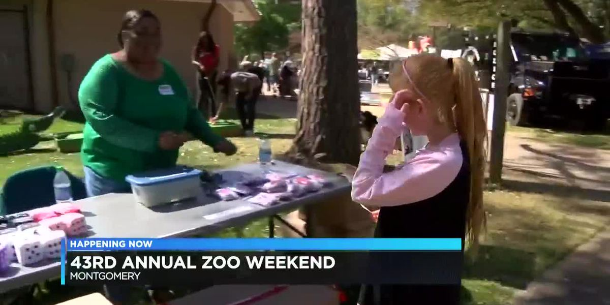Montgomery Zoo holds 43rd annual Zoo Weekend