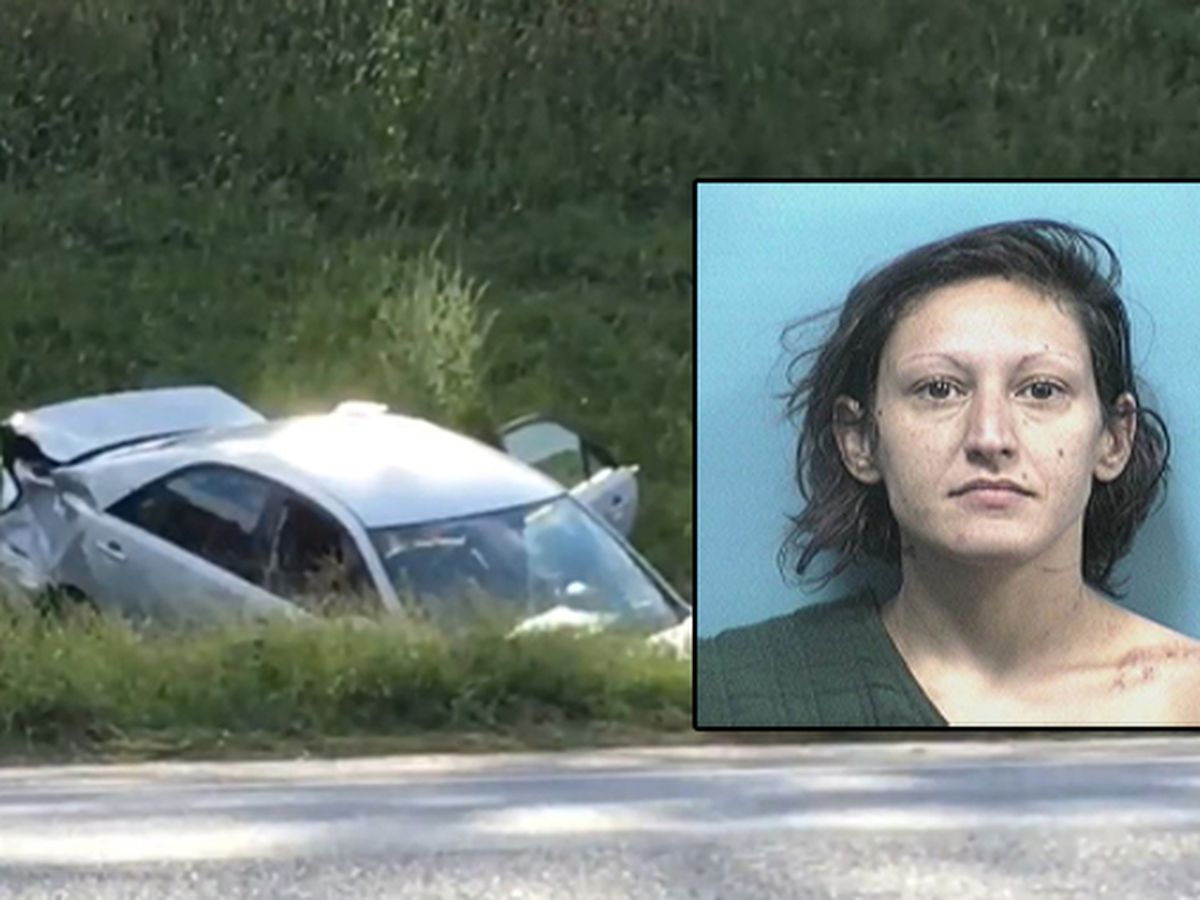 Woman arrested after I-65 chase, crash identified