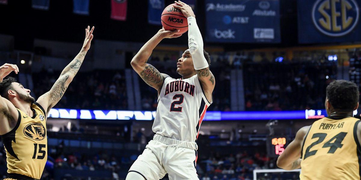 No. 22 Auburn shakes off Missouri 81-71 at SEC Tournament