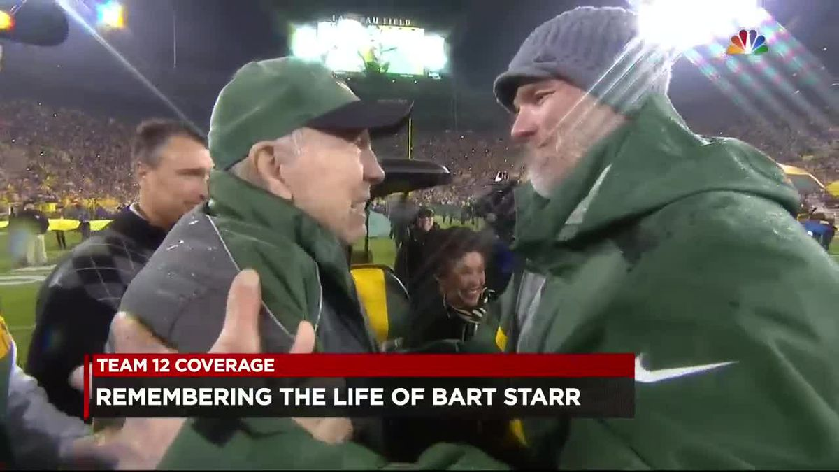 Reaction to Bart Starr passing
