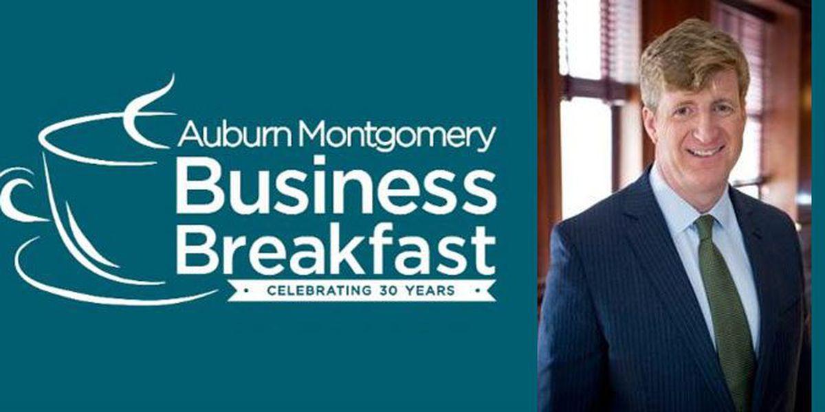 Patrick J. Kennedy to speak at AUM Business Breakfast