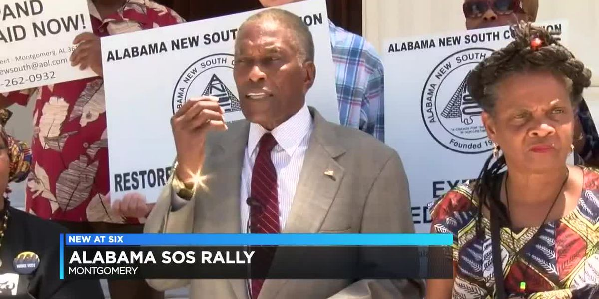 Alabama SOS rally held outside Capitol