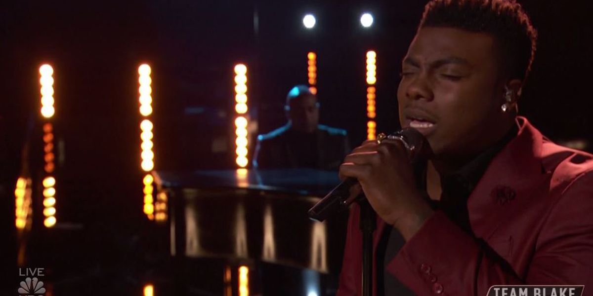 Montgomery's Kirk Jay performs 'I'm Already There' on 'The Voice'