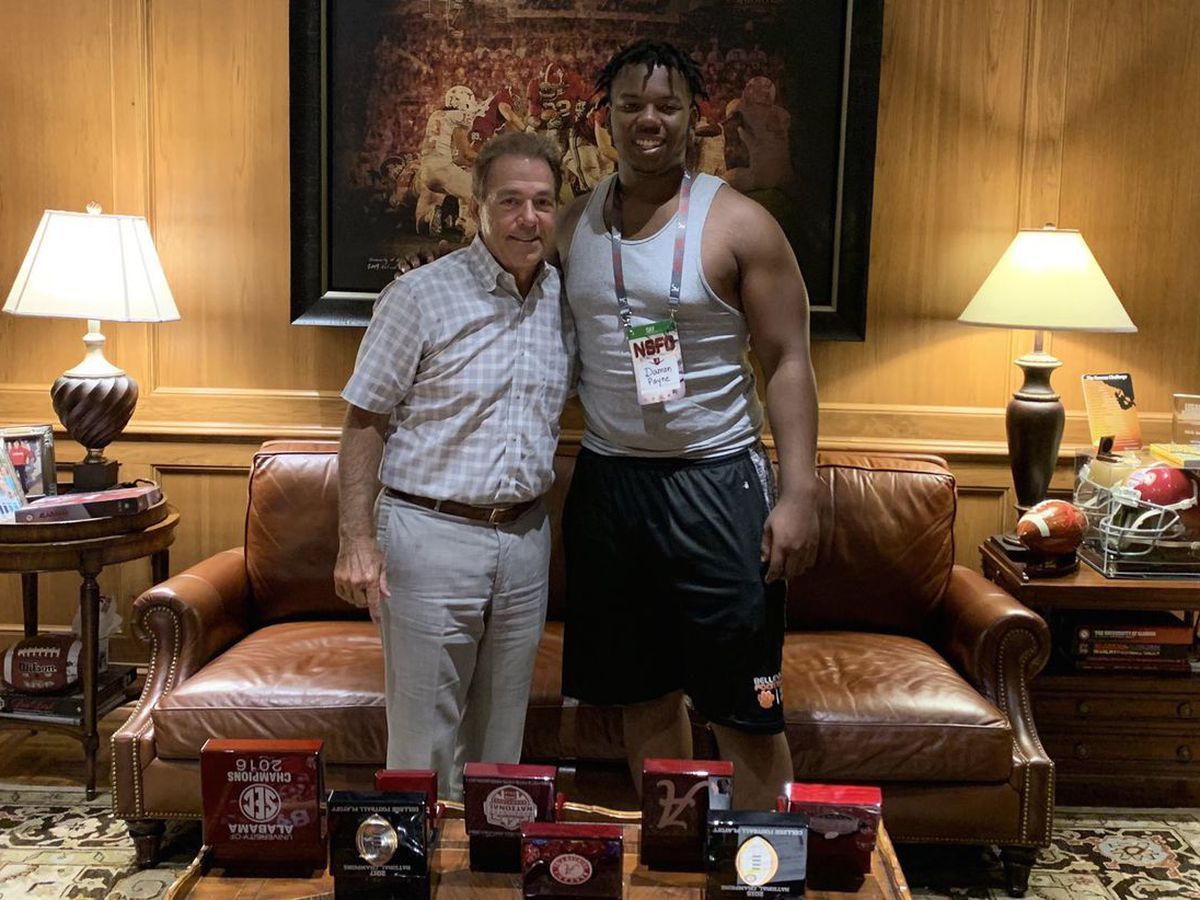 Nation's top-ranked defensive tackle commits to Alabama