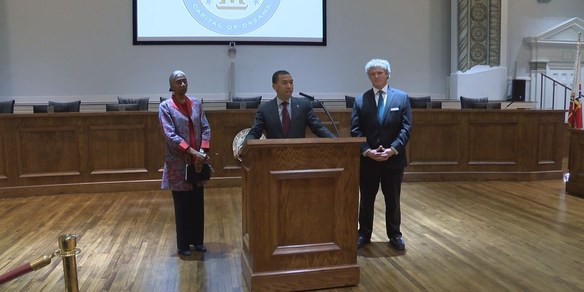 Montgomery Mayor Steven Reed announces plans for first quarter of 2020