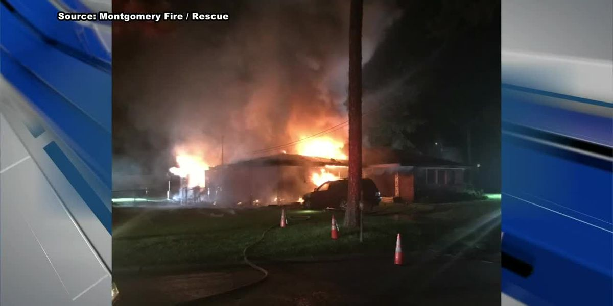 Woman killed in Montgomery house fire