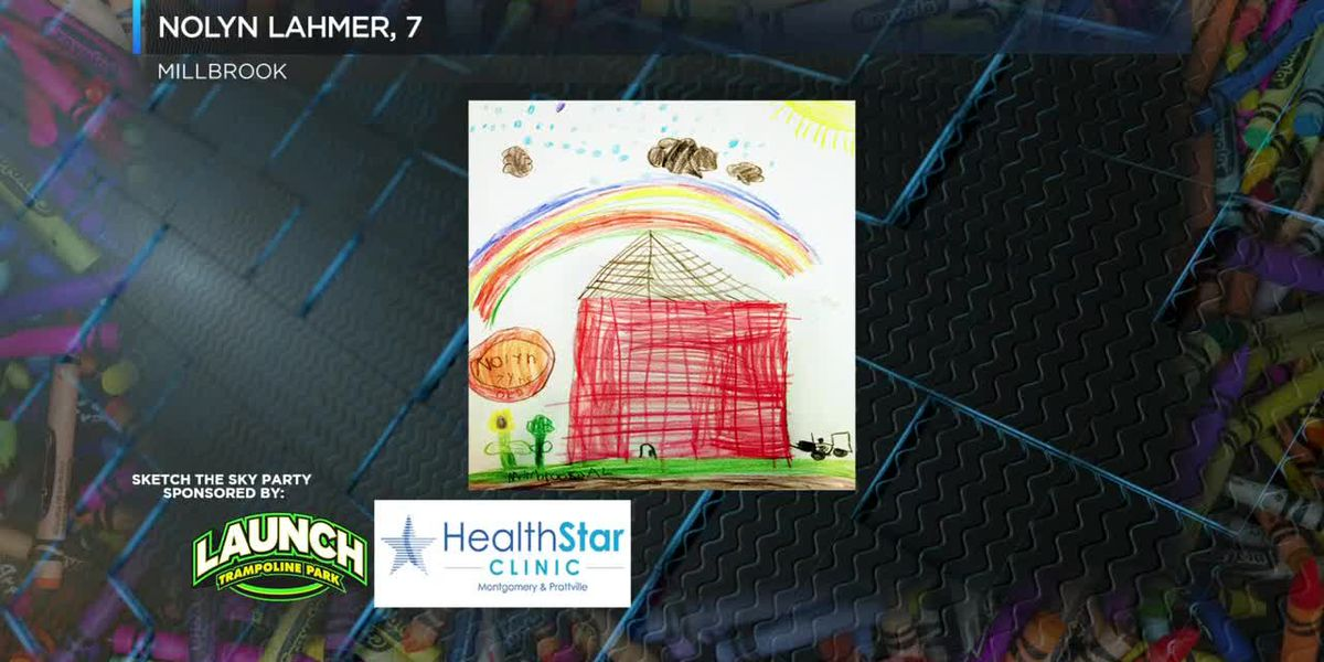 Sketch the Sky winner: Nolyn Lahmer