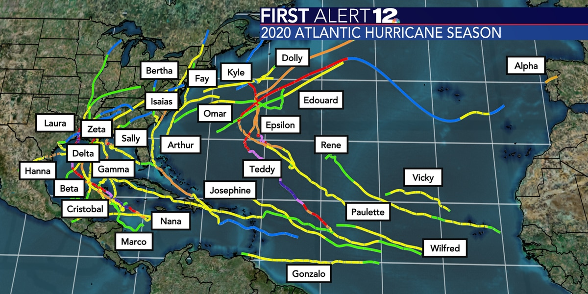 Eta makes landfall, two new storms possible in coming days