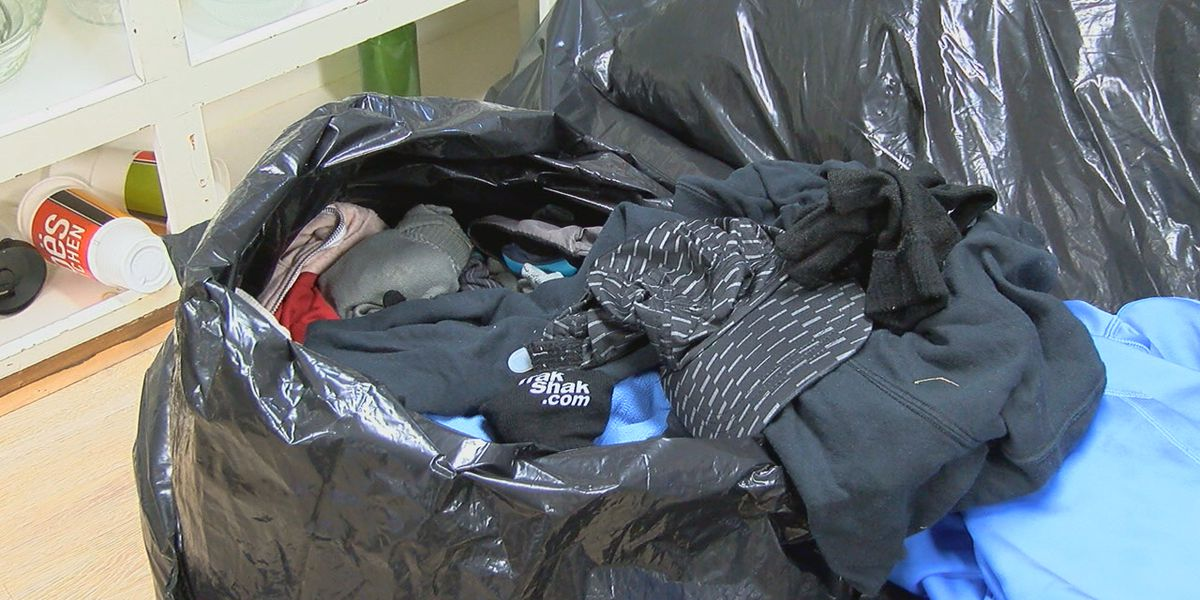 Clothes shed during Mercedes Marathon donated to charity
