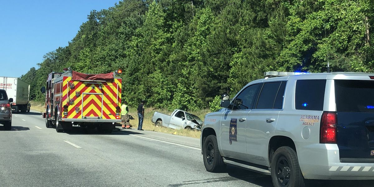 Troopers working fatal crash on I-85 near Tuskegee