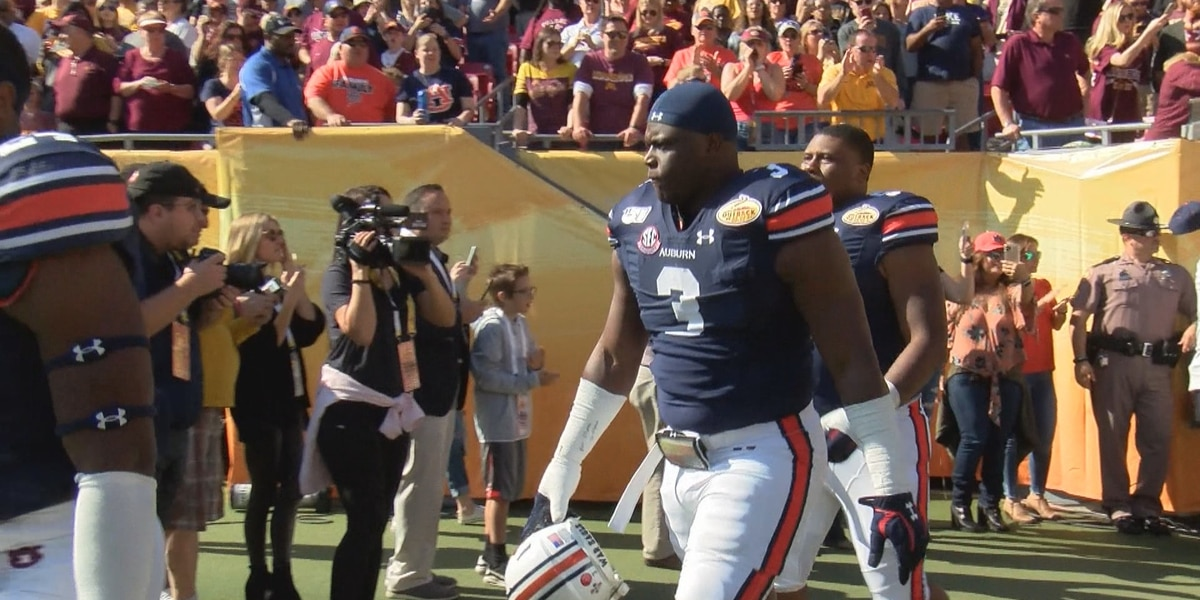 Greenville's Marlon Davidson readying for NFL