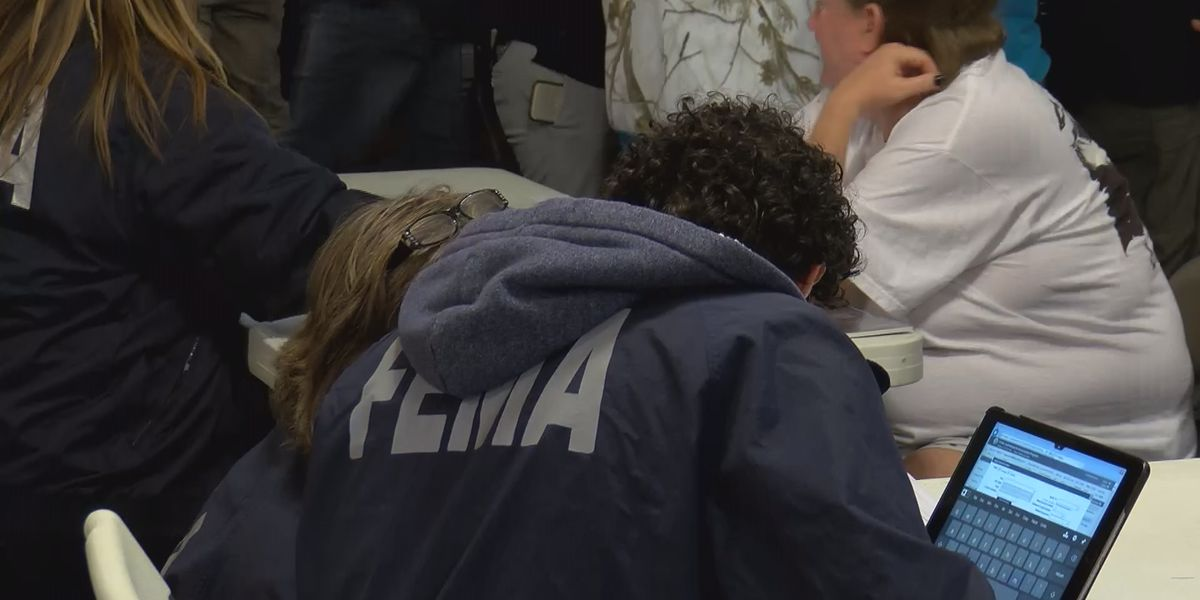 Local, state, federal agencies hold meeting for those affected by Lee County tornadoes