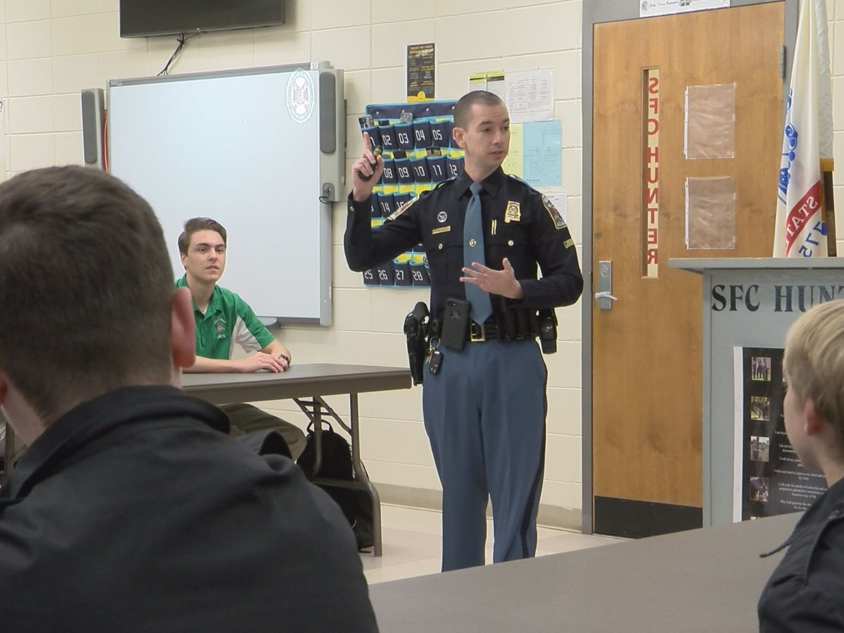 Troopers school teen drivers following recent fatal crashes