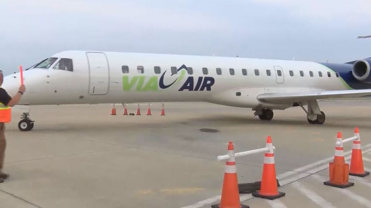 Via Airlines ending all flights between Montgomery and Orlando
