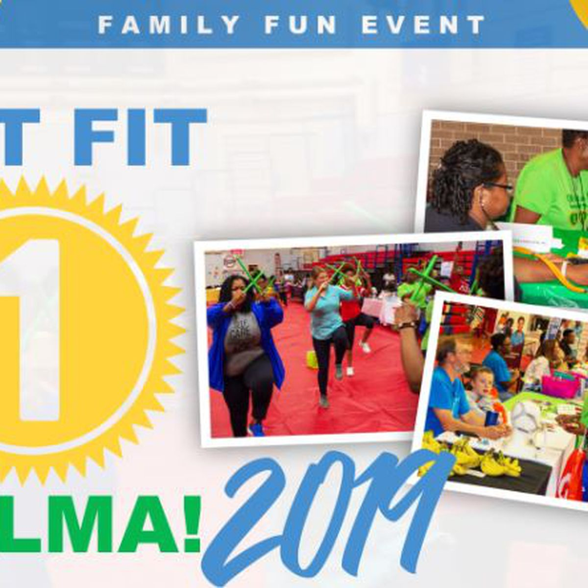 'Get Fit' at family fun event in Selma