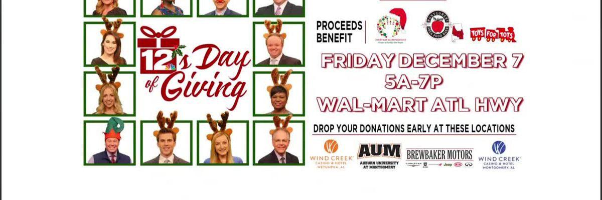 WSFA 12 Days of Giving spreads joy to kids in need