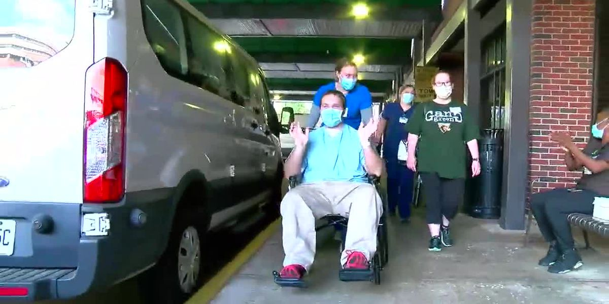 'I didn't think it was real': COVID-19 survivor leaves UAB after 2-month stay