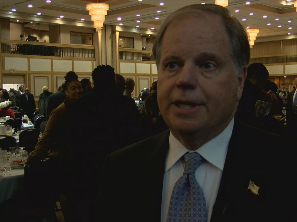Sen. Doug Jones to speak at Democratic National Convention