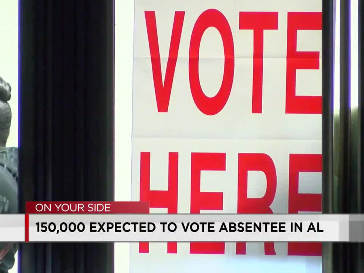 About 16K absentee ballots returned so far for November election