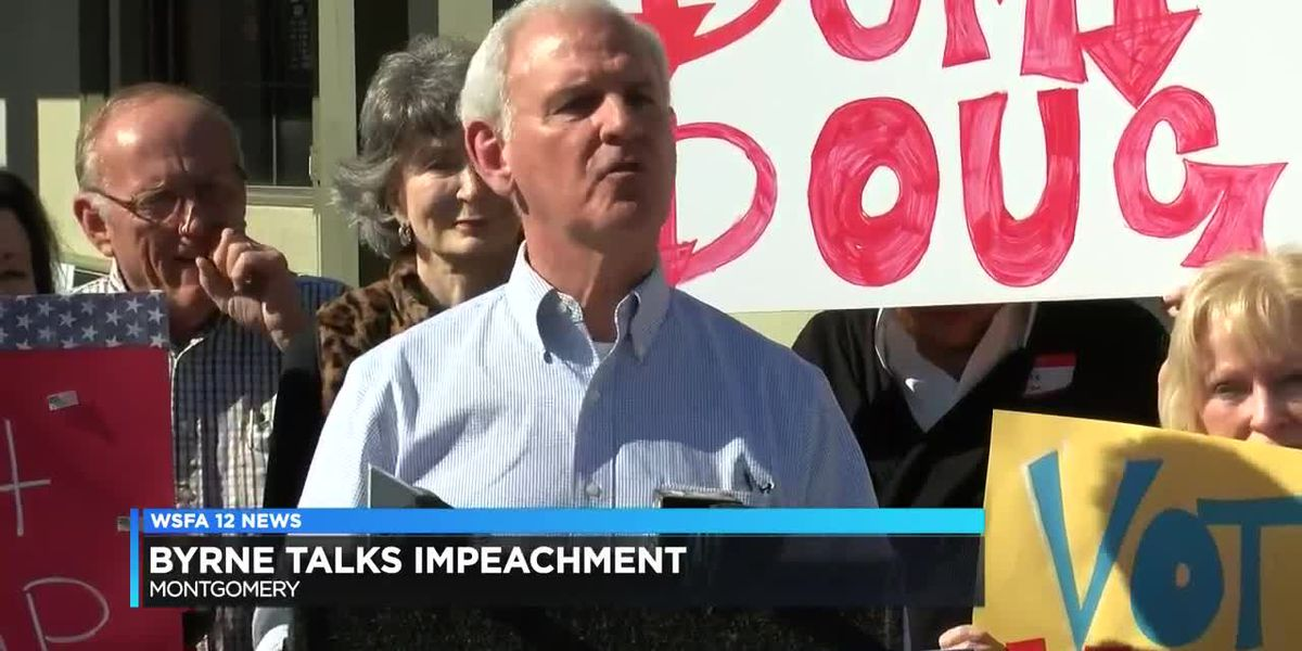 Rep. Bradley Byrne makes campaign stop in Montgomery, discusses impeachment