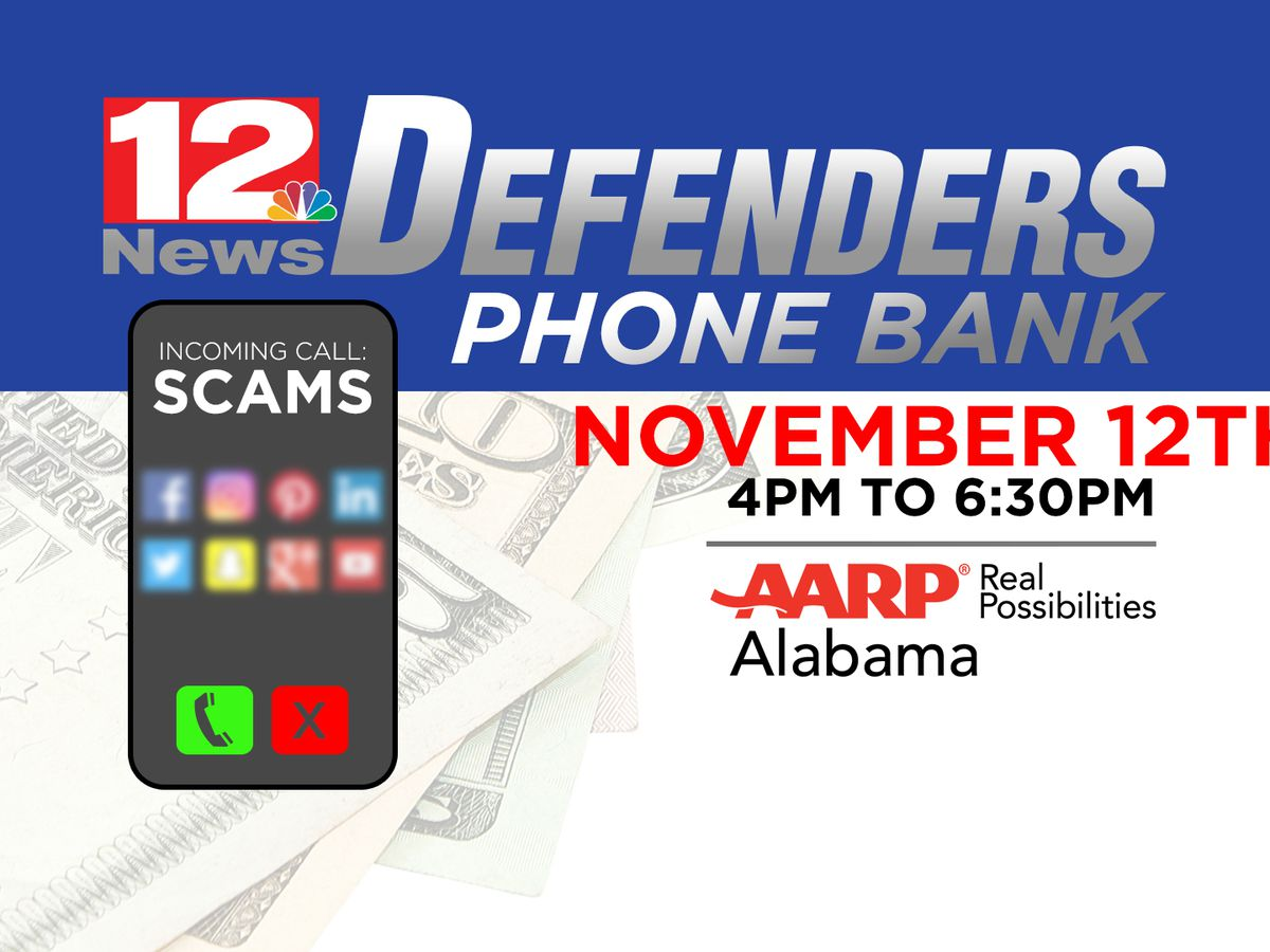WSFA 12 News hosting Defenders phone bank Tuesday