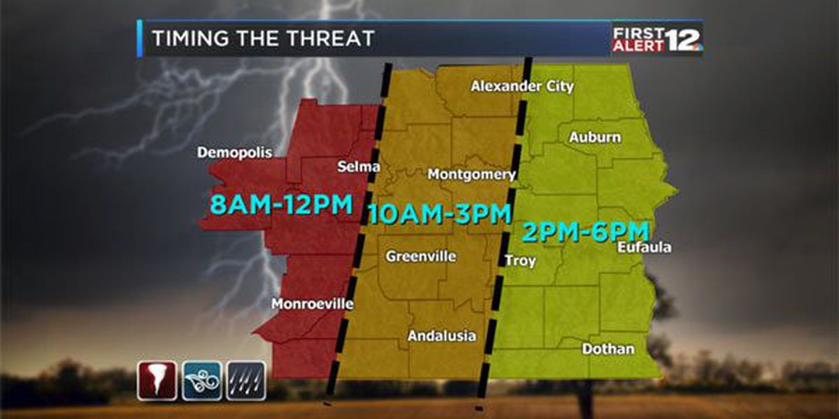 Weather Blog: Severe weather threat for Monday