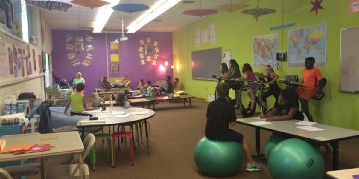 Wetumpka elementary class turned into kinesthetic classroom