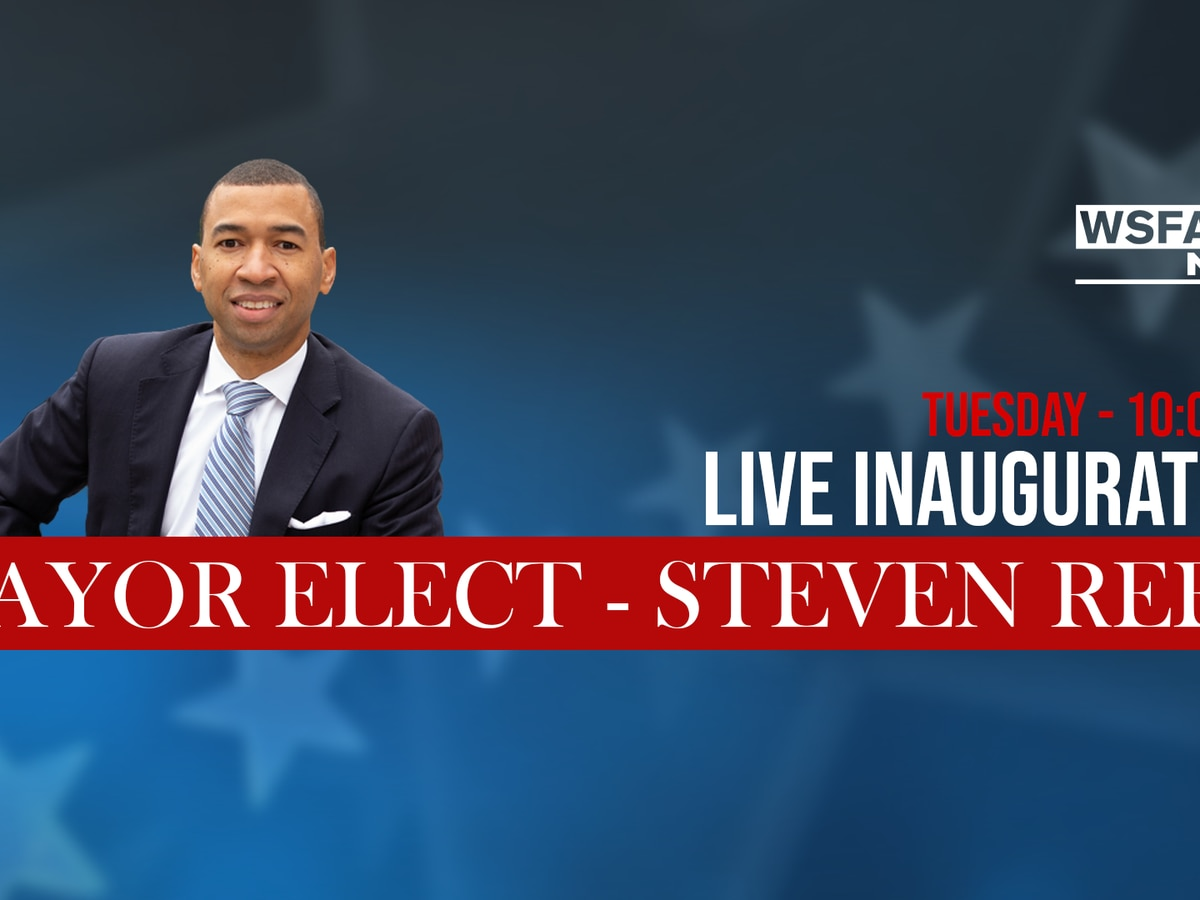 WSFA 12 News to carry Steven Reed's swearing-in Tuesday
