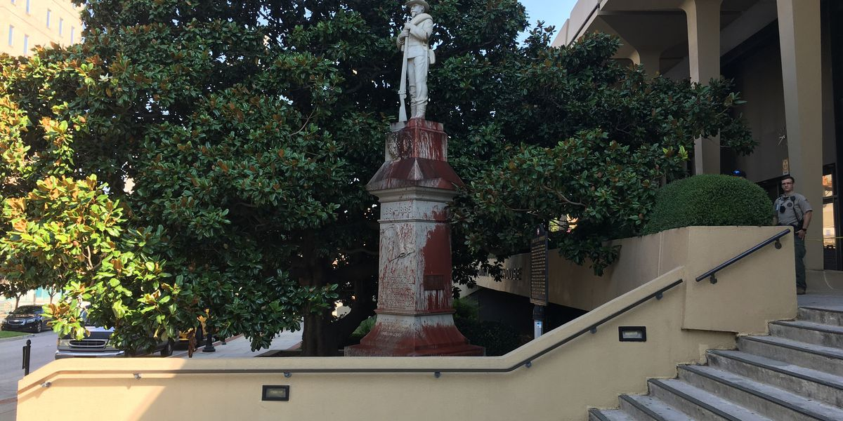 Madison County Confederate monument vandalized