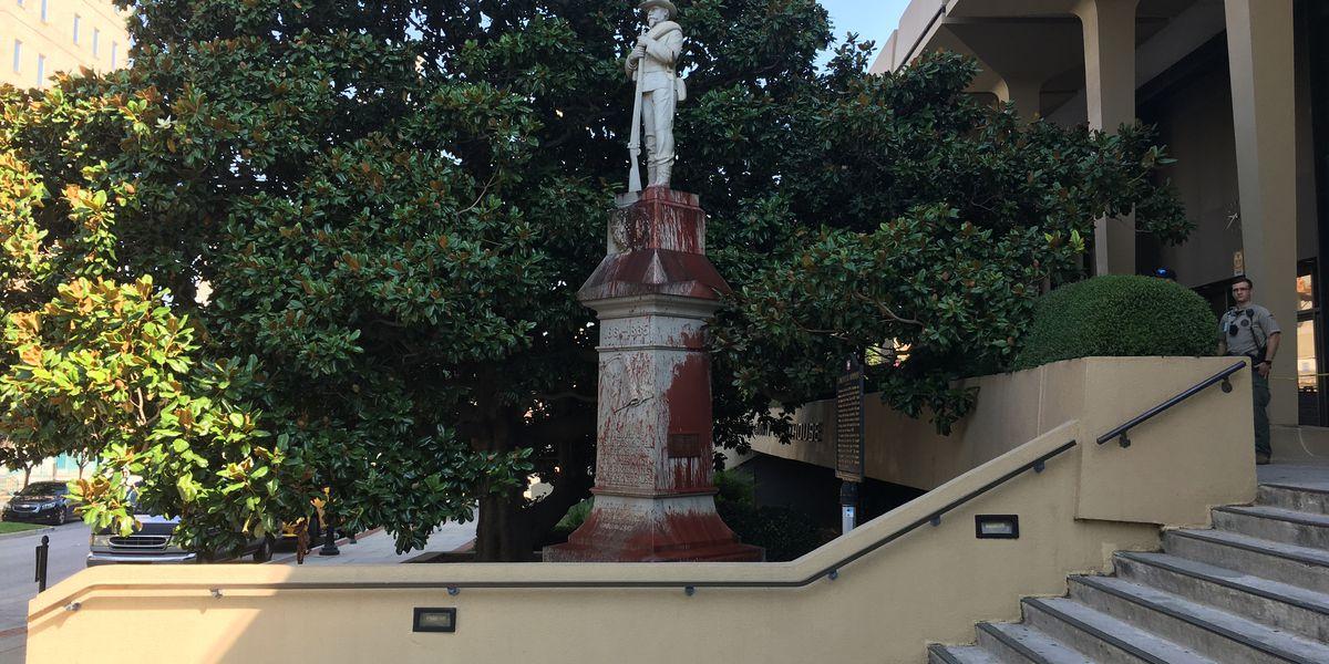 Madison County Confederate monument vandalized