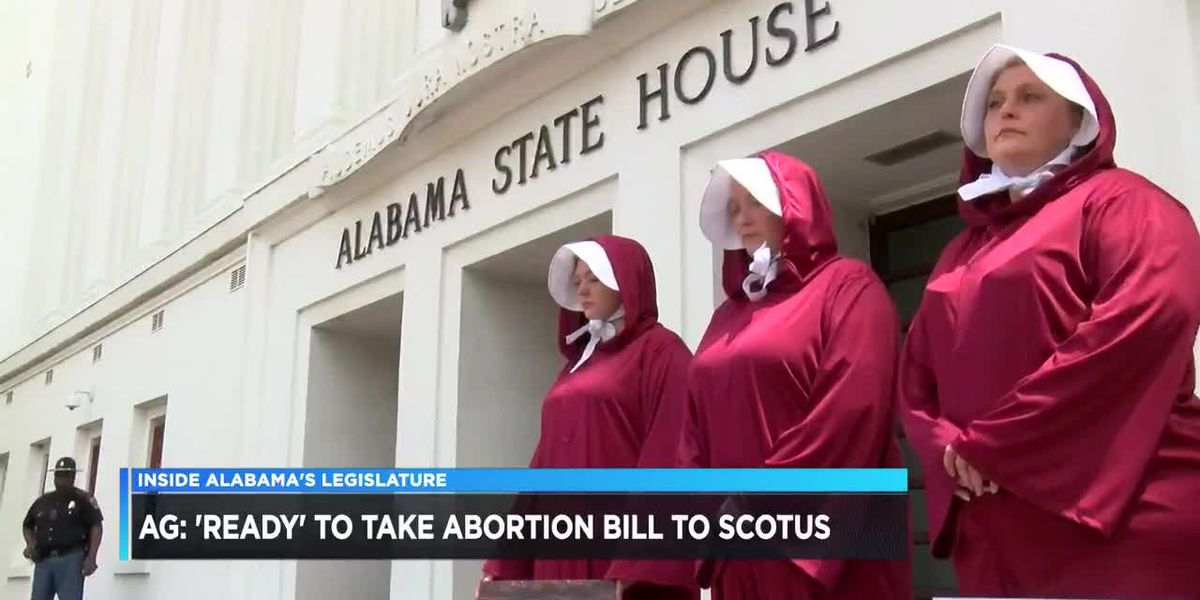 Alabama AG ready to defend abortion law in court