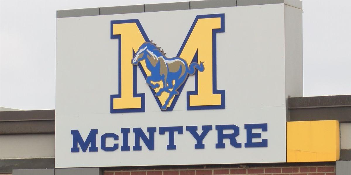 McIntyre Comprehensive Academy dismissed at noon