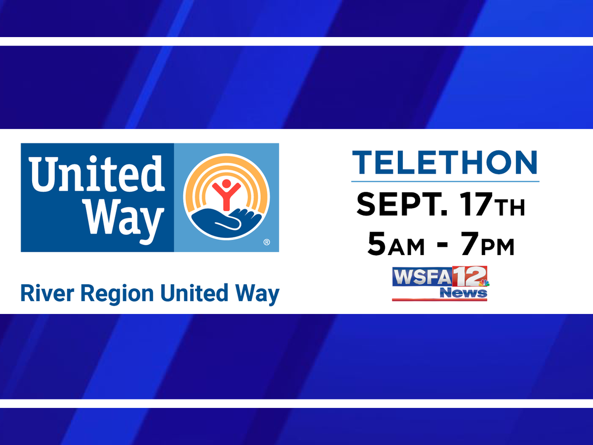 WSFA 12 News hosting telethon for United Way Tuesday
