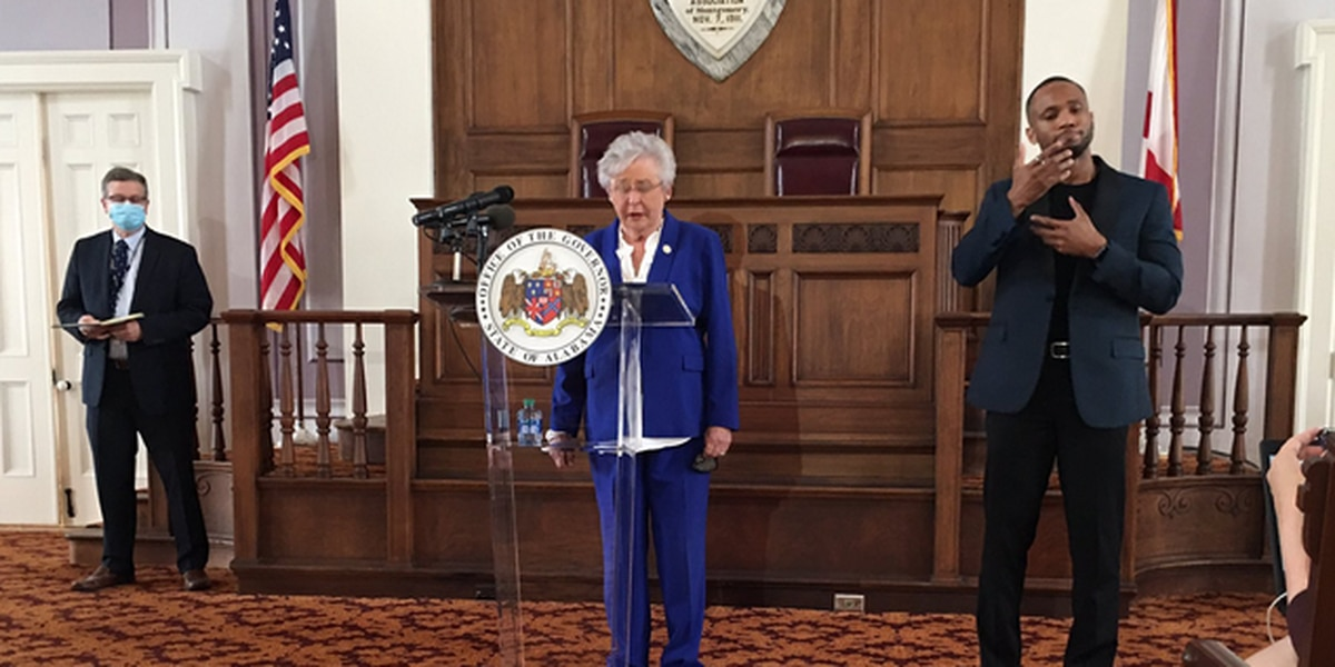 Ivey set to announce fate of Alabama's COVID-19 mandates at 11 a.m.