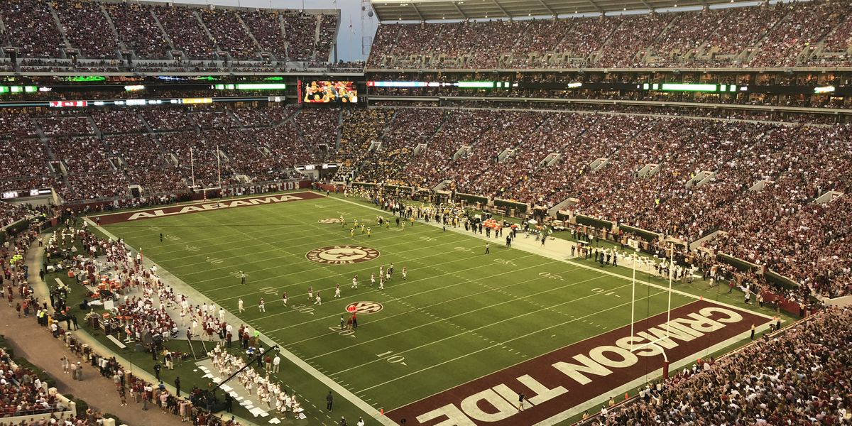 Bryant-Denny Stadium will open early Saturday; Fans encouraged to arrive early due to heightened security