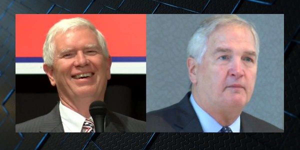Brooks, Strange battle it out over Trump support