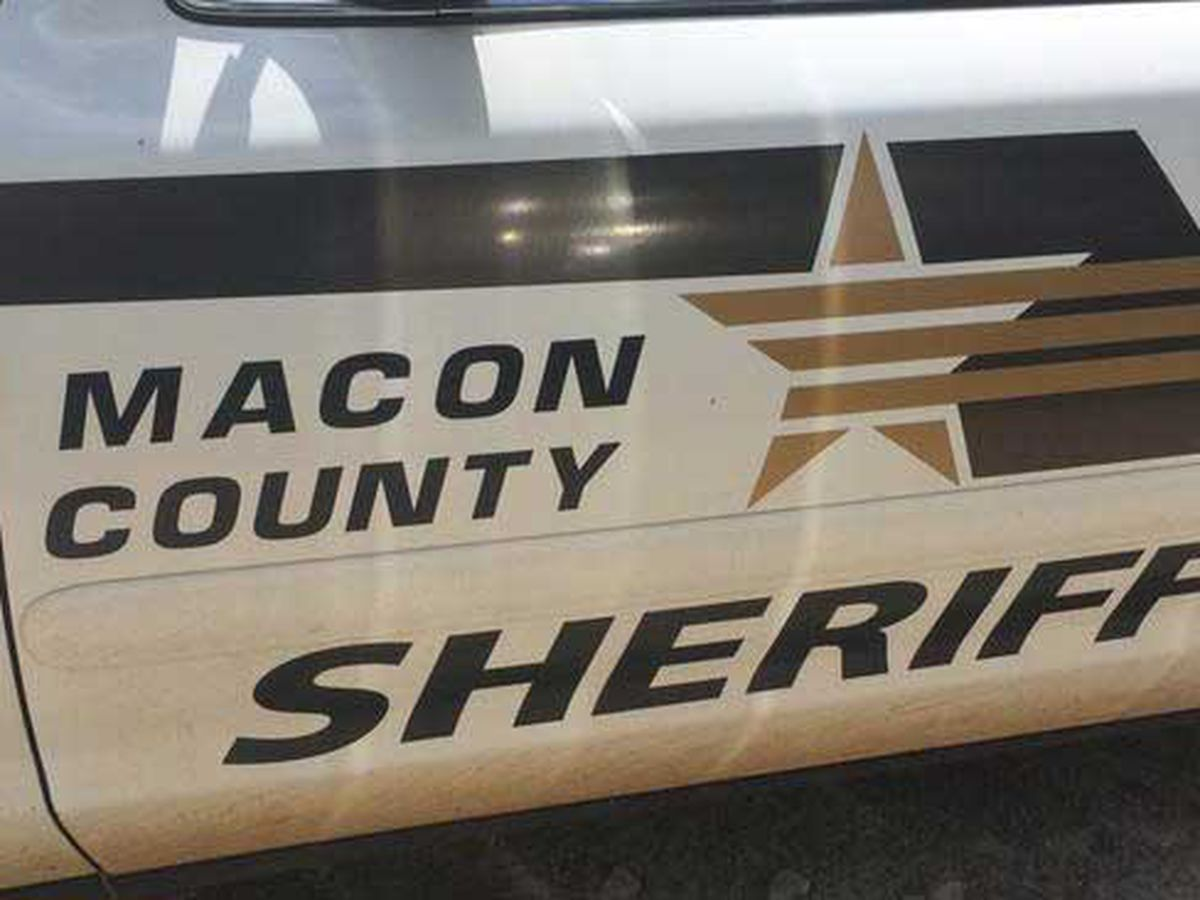 Manhunt underway for armed car theft suspect in Macon County
