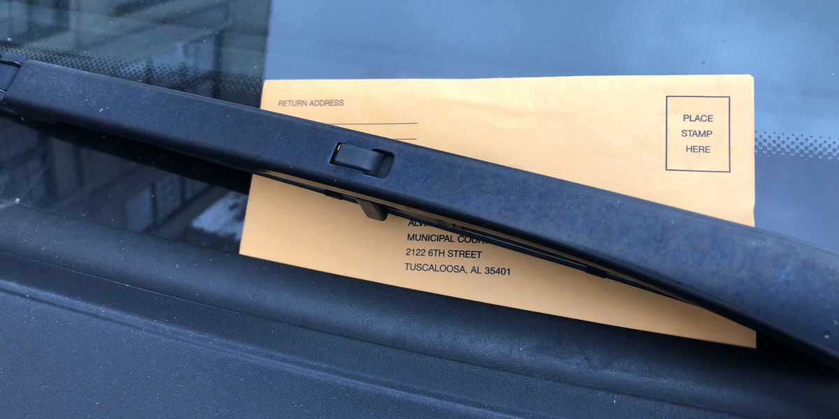 Tuscaloosa City Council votes to allow paying for parking tickets with toys