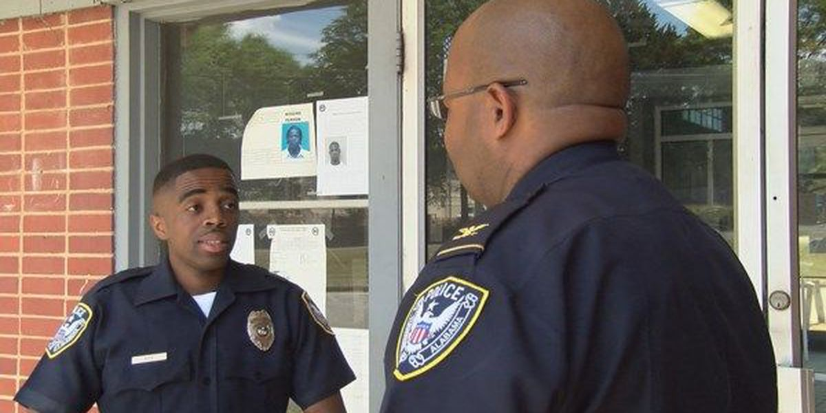 Tuskegee Police Officer credited with saving man's life