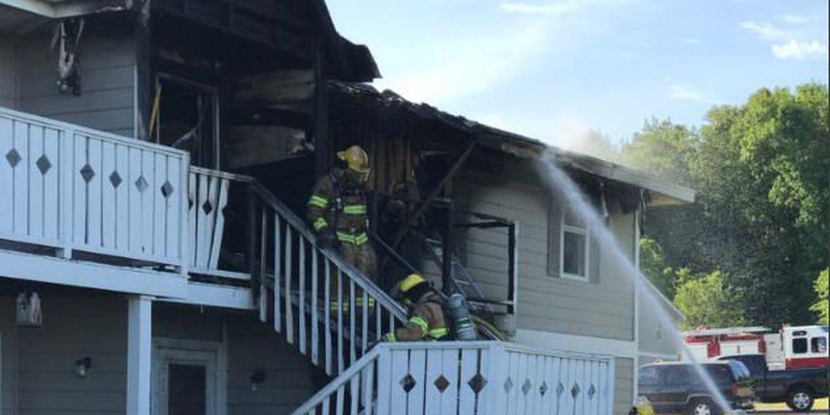 Fire at Prattville apartment complex damages several units