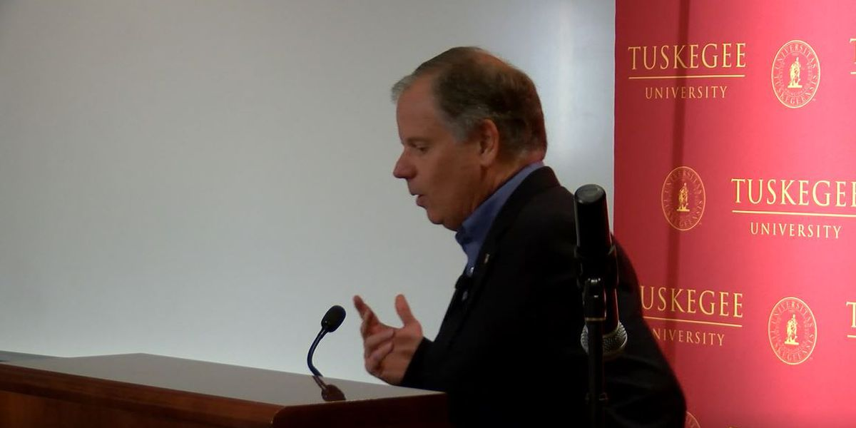 'Damned if you do': Alabama's Jones in a bind on impeachment